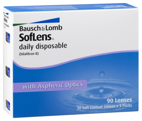 Bausch & Lomb Contact Lens Image
