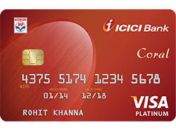 ICICI Bank Visa Credit Card Image