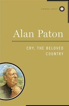 Cry, The Beloved Country - Alan Paton Image