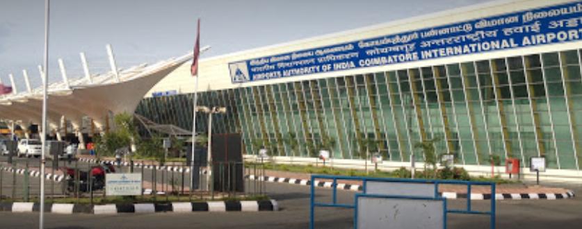 Coimbatore, India (CJB) - Peelamedu Airport Image