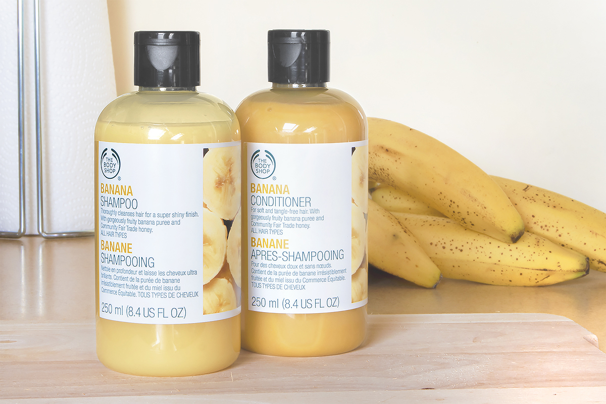 The Body Shop Banana Conditioner Image