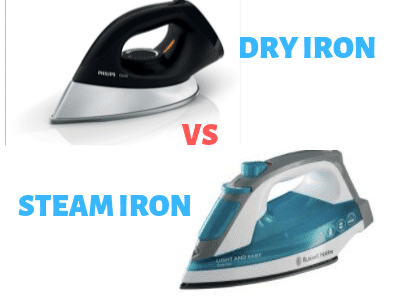 Normal Iron Vs. Steam Iron Image