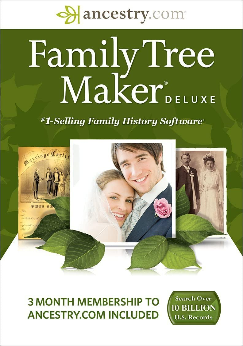 Family Tree Maker Deluxe Image