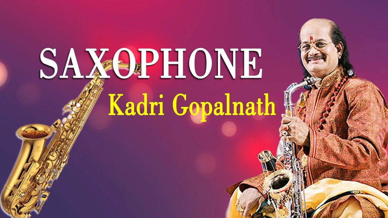 Kadri Gopalnath - Saxophone Image