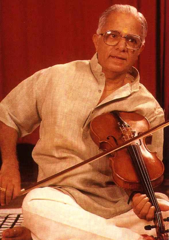 M S Gopalakrishnan - Violin Image