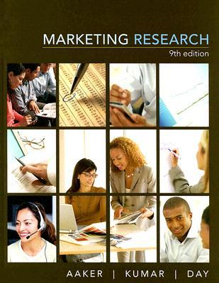 Marketing Research - Aaker David Image