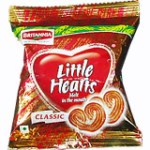 Britannia Little Hearts Biscuits Image