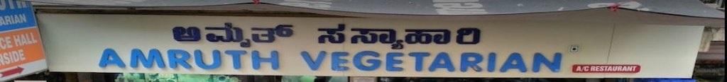 Amruth Vegetarian- St Marks Road - Bangalore Image