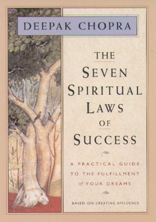 Seven Spiritual Laws of Success - Deepak Chopra Image