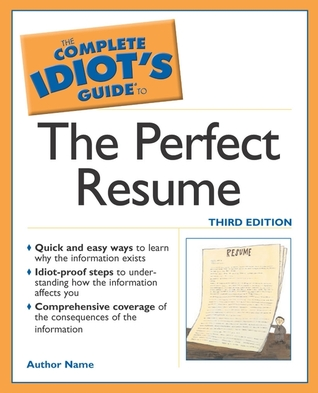 Complete Idiot's Guide to the Perfect Resume, The - Susan Ireland Image