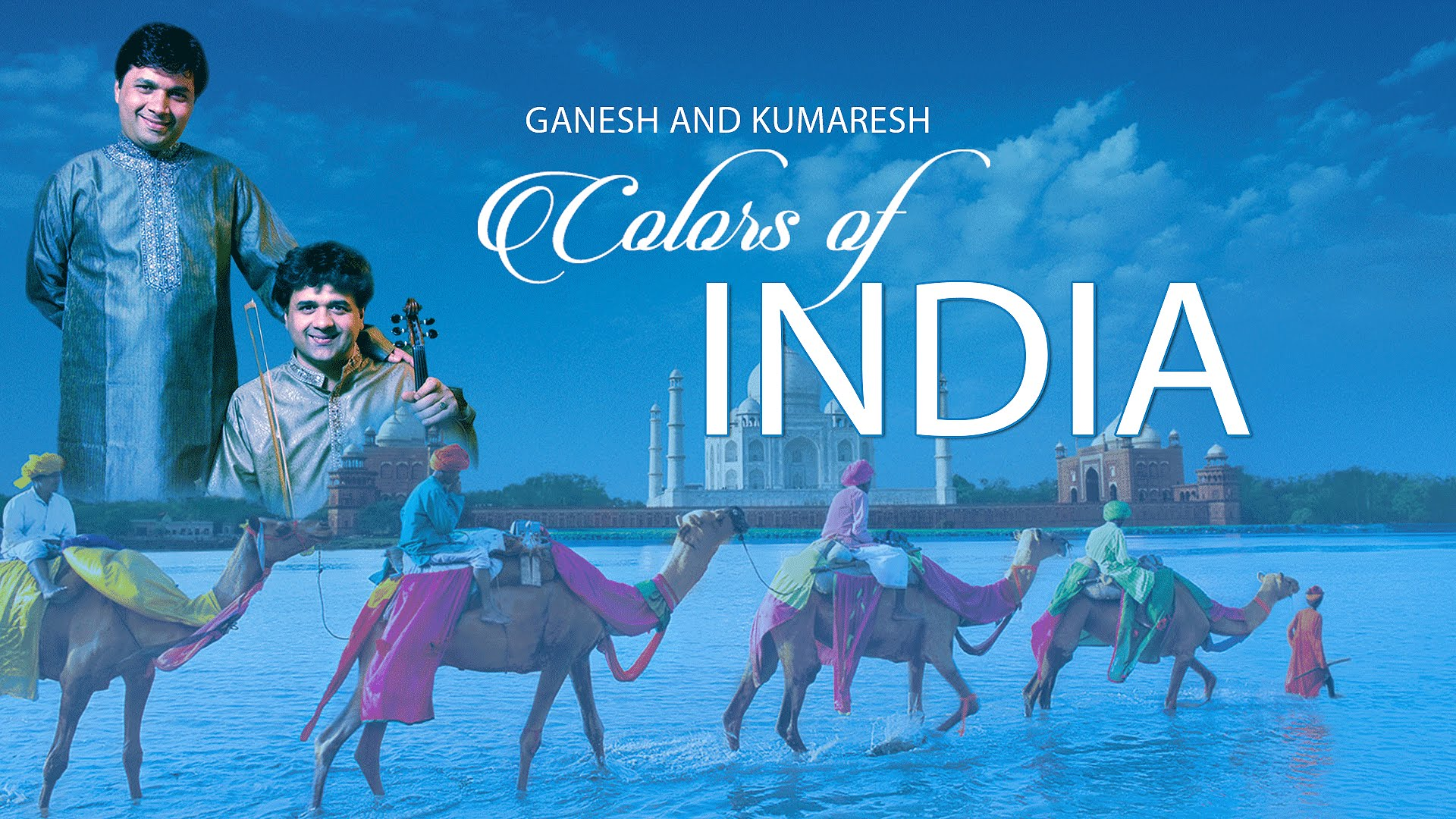 Colors of India - Ganesh and Kumaresh  Image
