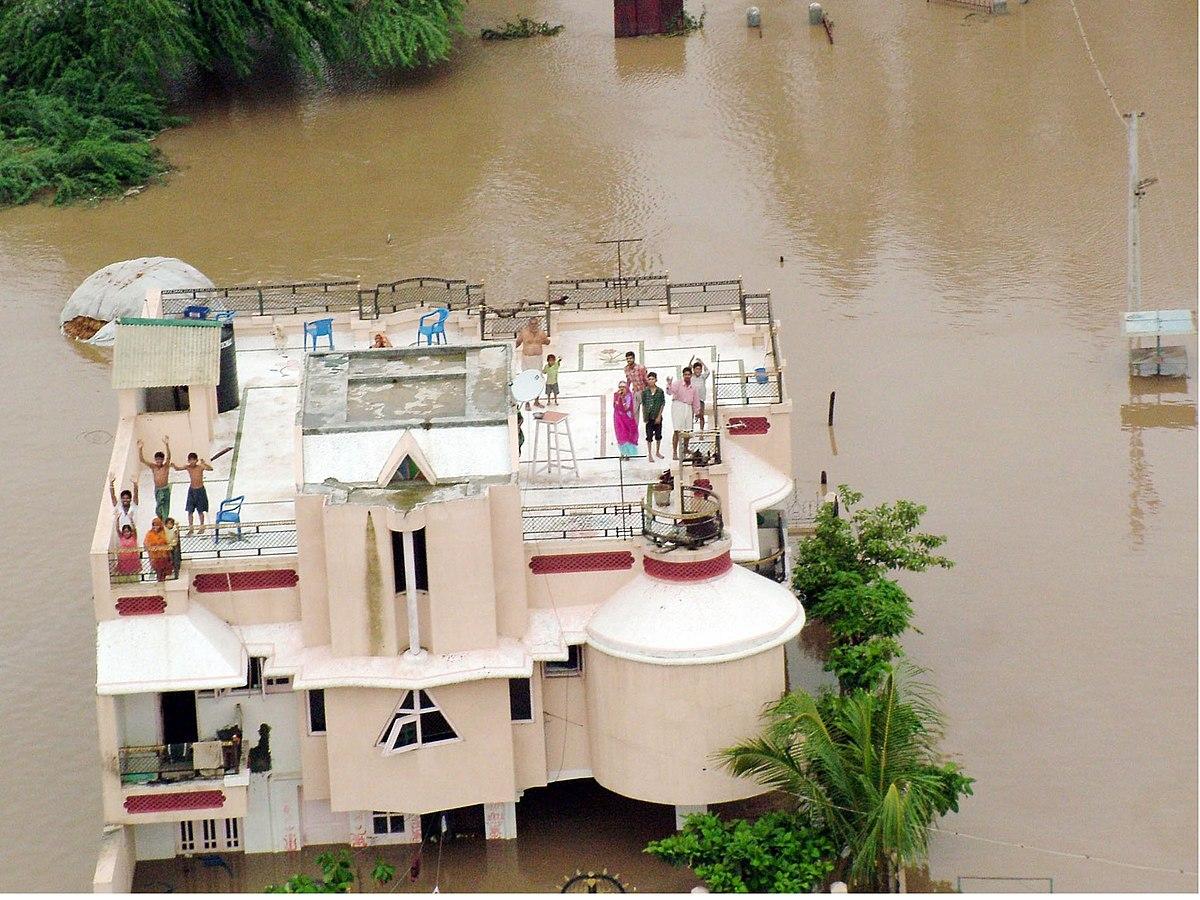 Gujarat Floods 2005 Image
