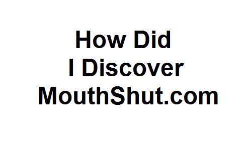 How Did I Discover MouthShut.com Image
