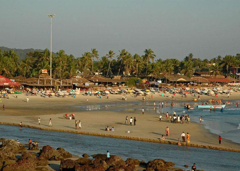 Baga Beach Reviews Tourist Places Tourist Destinations