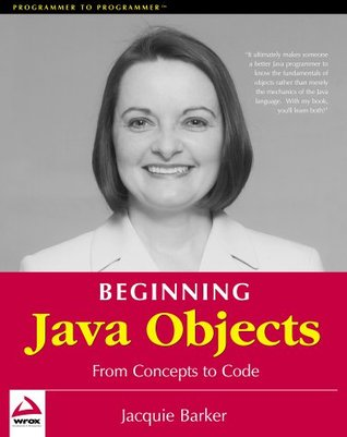 Beginning Java Objects - Jacquie Barker Image