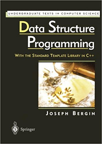 Data Structure Programming - Joseph Bergin Image