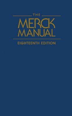 Merck Manual of Diagnosis and Therapy, The - Mark H. Beers Image