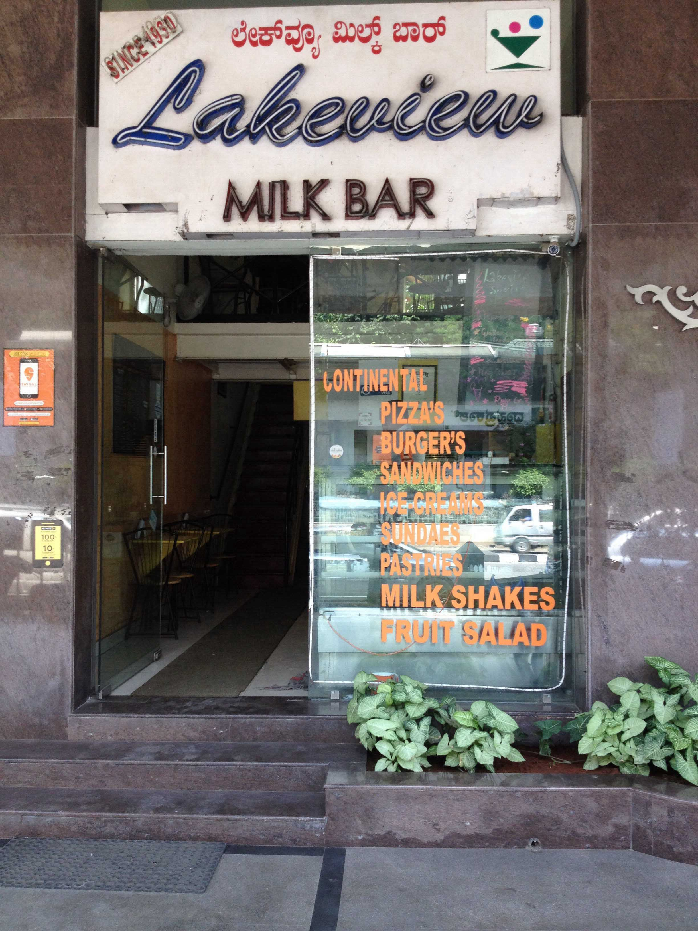 Lakeview Milk Bar - MG Road - Bangalore Image
