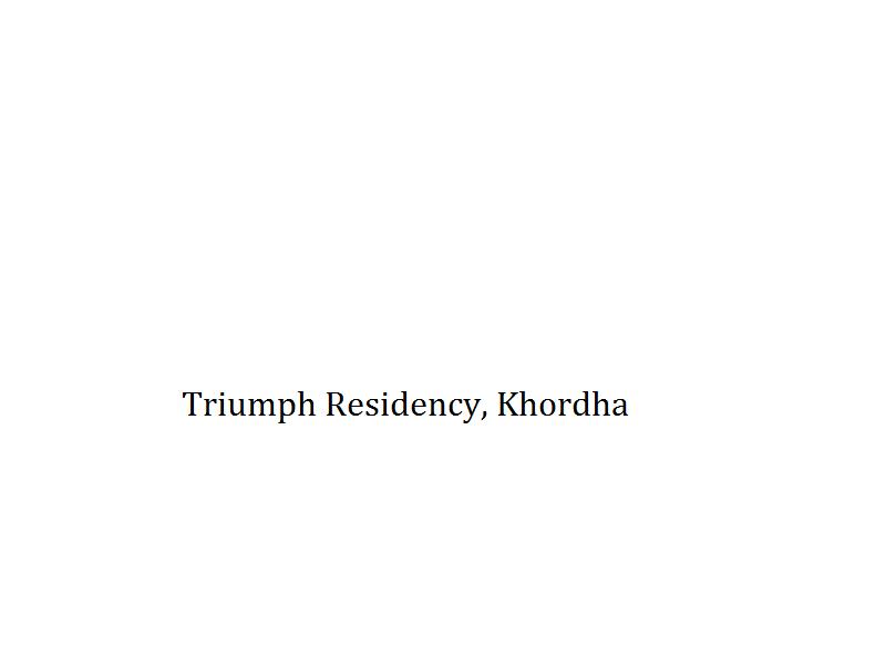 Triumph Residency - Khordha Image