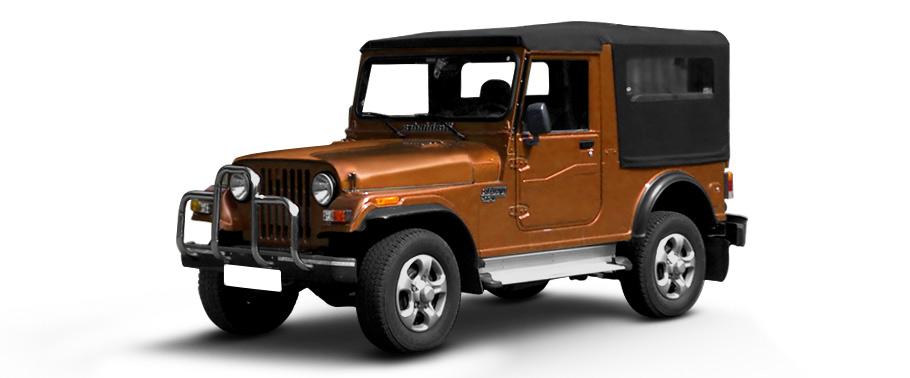 Mahindra Jeep Image