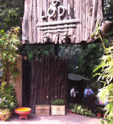 Lodi Garden Restaurant - Lodhi Road - Delhi Image