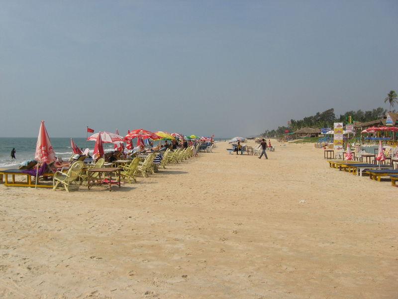 Benaulim Beach Image