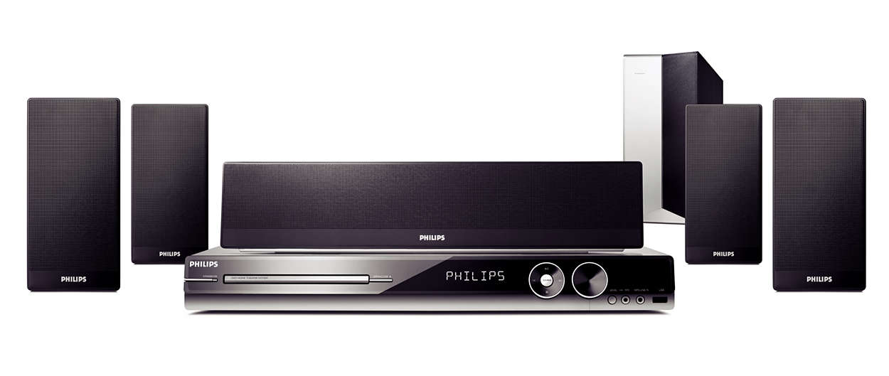 Philips HTS3545 Home Theatre System Image