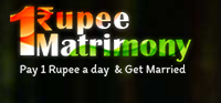 1rupeematrimony.com Image