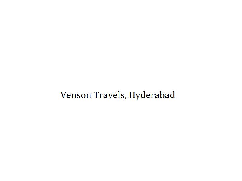 Venson Travels - Hyderabad Image