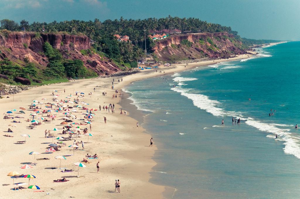 Image result for varkala beach
