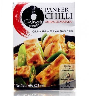 Makes Mouthwatering Paneer Chili No Msg Chings Secret Paneer