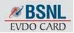 BSNL EVDO Card Image