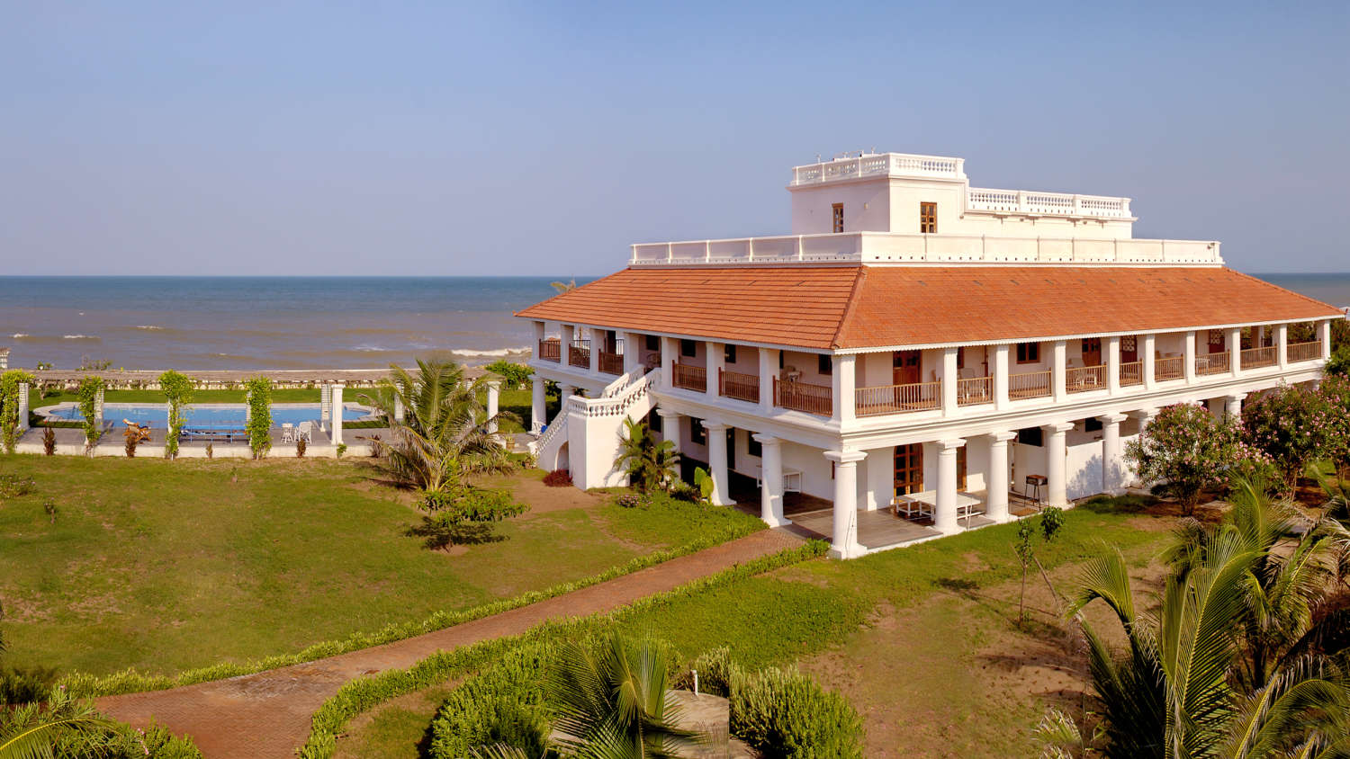 The Bungalow on the Beach - Tranquebar Image
