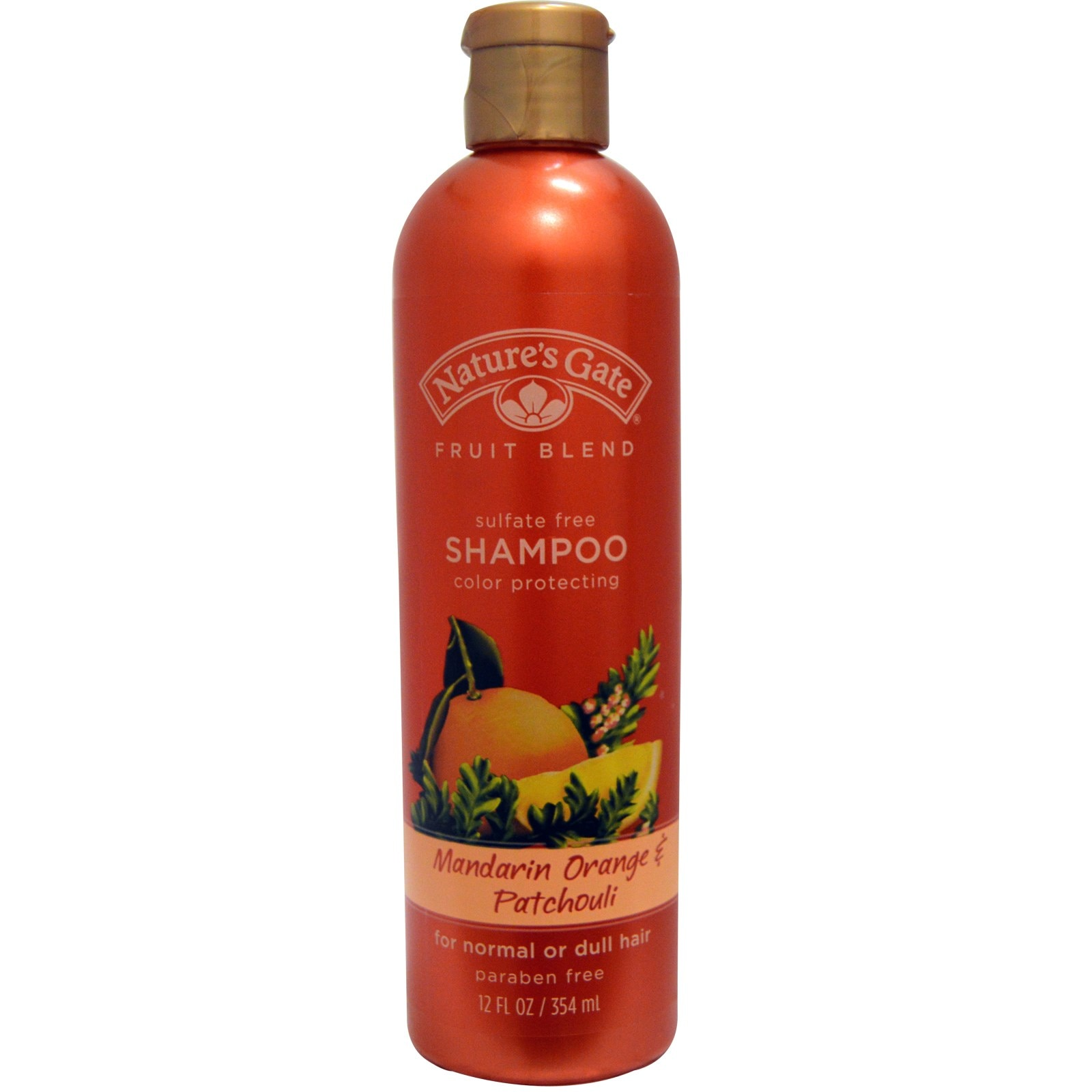 Mandarin Orange and Patchouli Fruit Organic Image