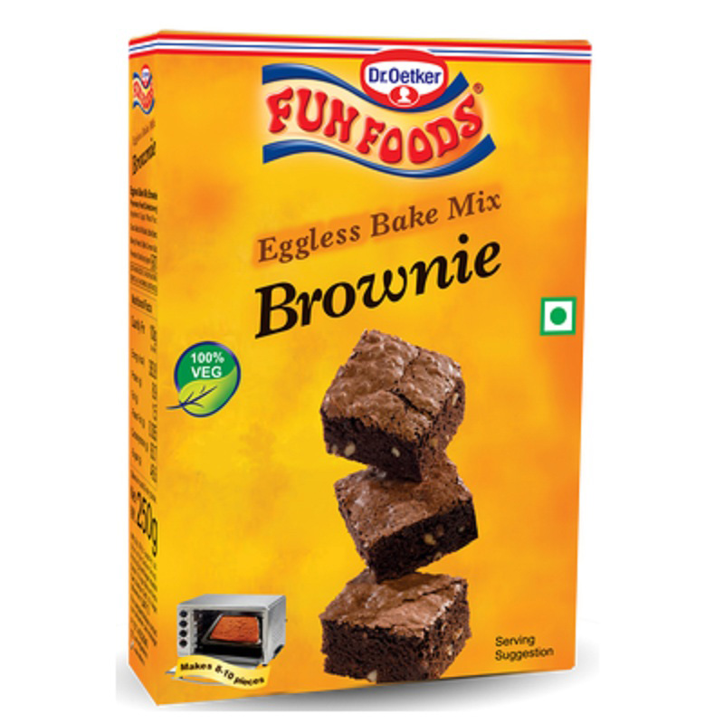 Fun Foods Brownie Cake Mix Image