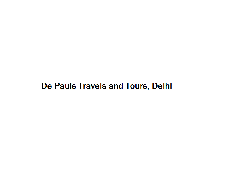 De Pauls Travels and Tours - Delhi Image