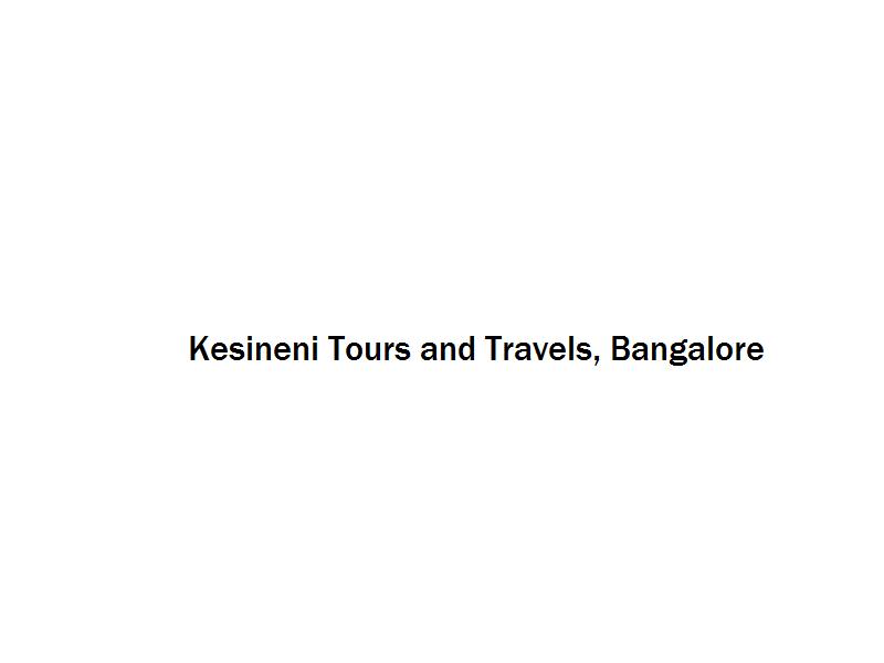 Kesineni Tours and Travels - Bangalore Image