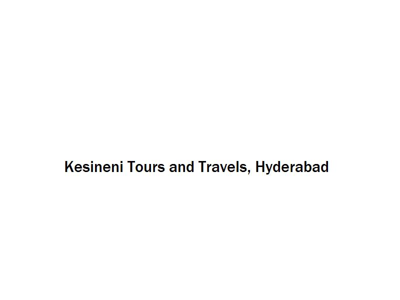 Kesineni Tours and Travels - Hyderabad Image