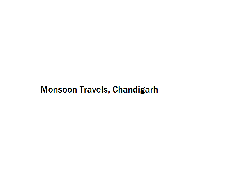 Monsoon Travels - Chandigarh Image