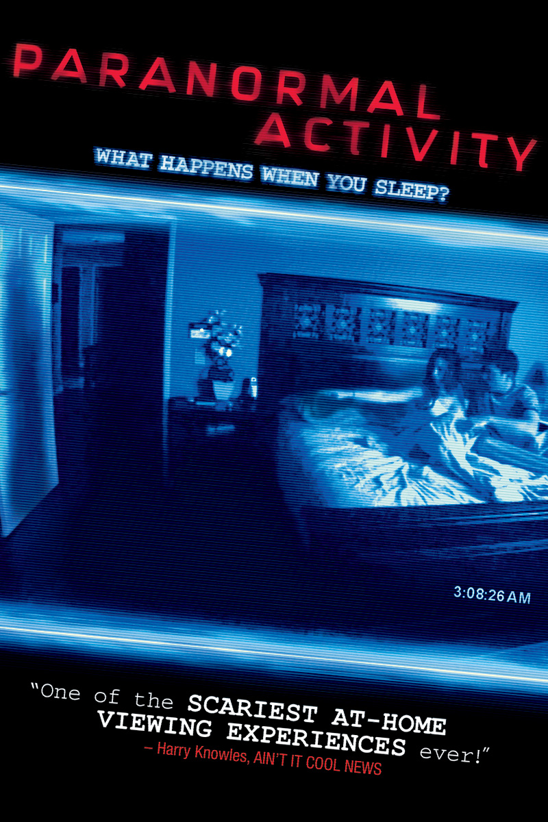 Watch it if u like horror movies     - PARANORMAL ACTIVITY MOVIE