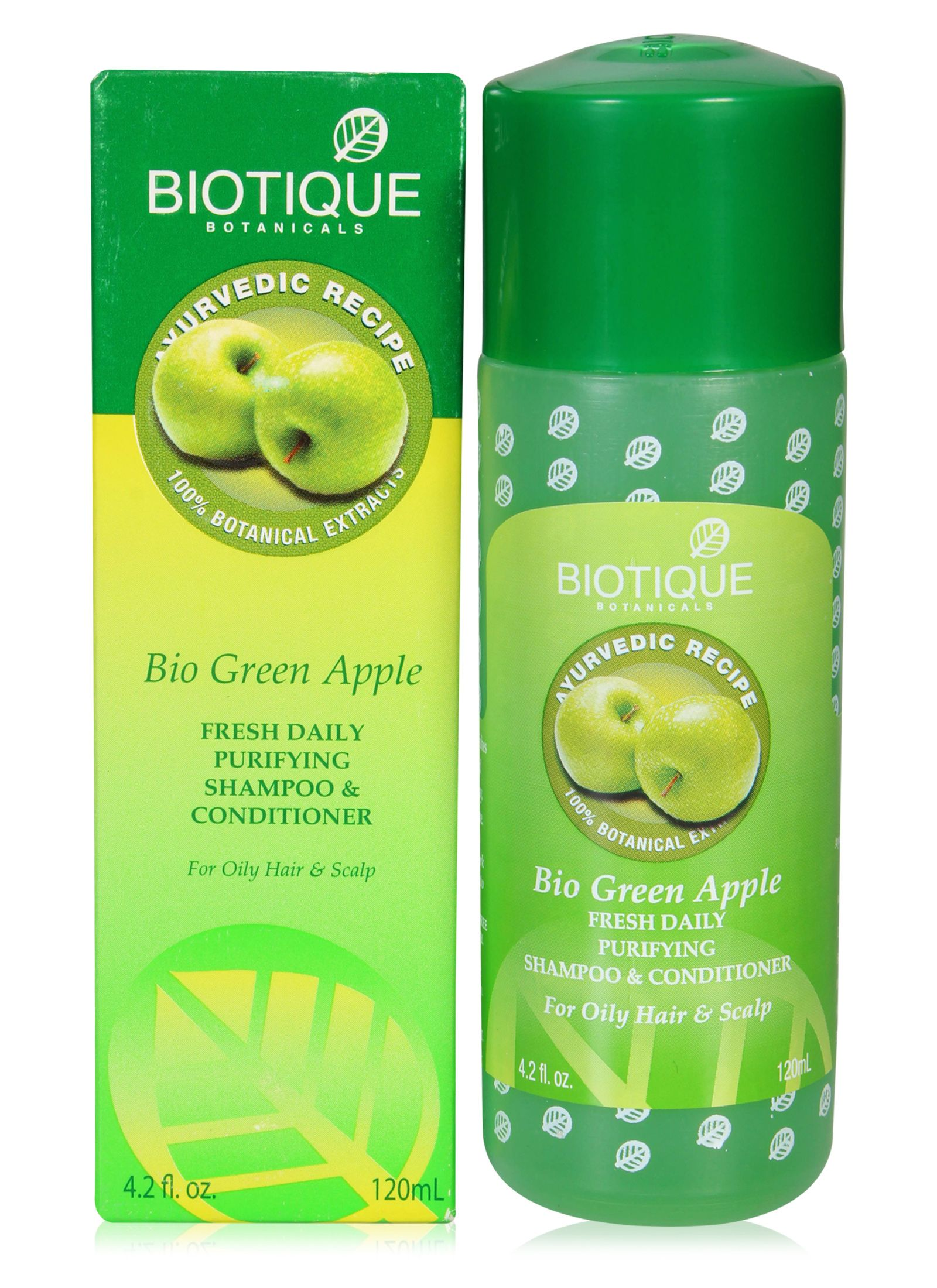 Biotique Green Apple Shampoo Image
