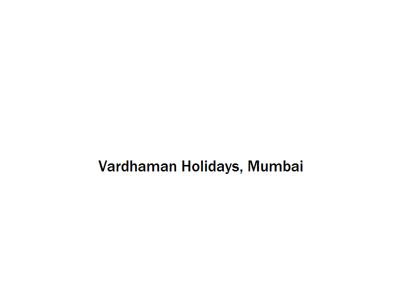 Vardhaman Holidays - Mumbai Image