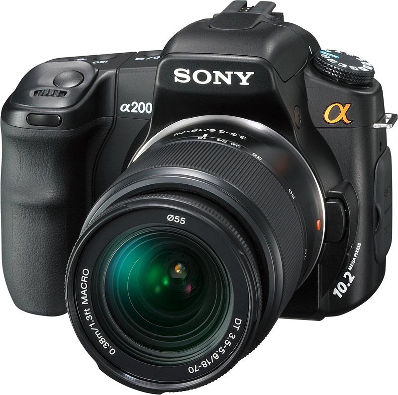 Sony DSLR-A200K Image