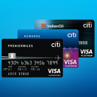 Citibank Visa Credit Card Image