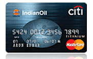 IndianOil Citibank Credit Card Image
