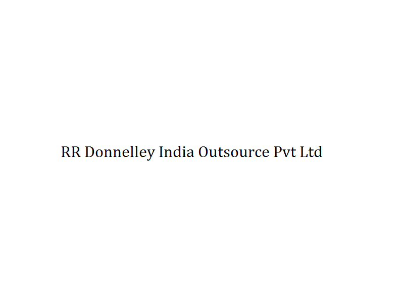 RR Donnelley India Outsource Pvt Ltd Image