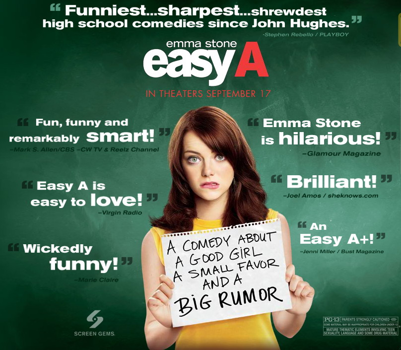 Easy A Movie Image