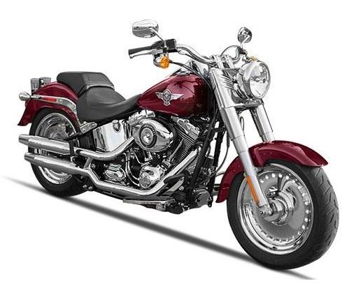 Harley Davidson Fat Boy Image