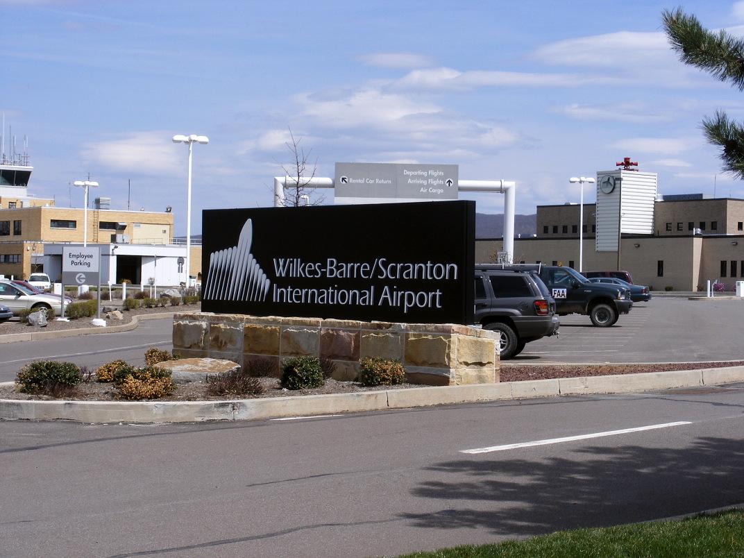 Scranton, PA, USA (AVP) - Wilkes - Barre International Image