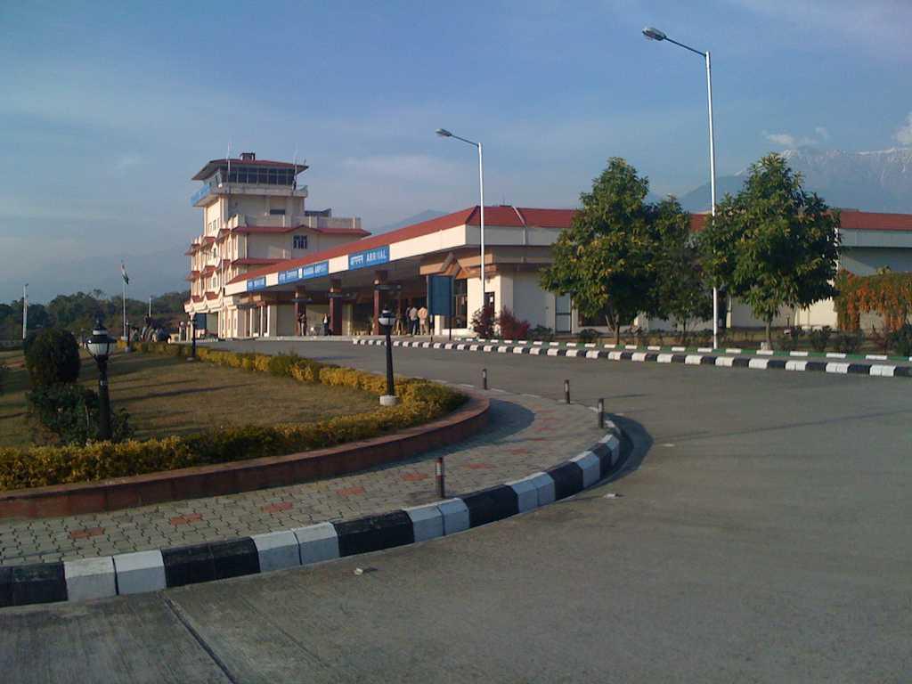 Gaggal Airport, India (DHM) Dharamshala Image